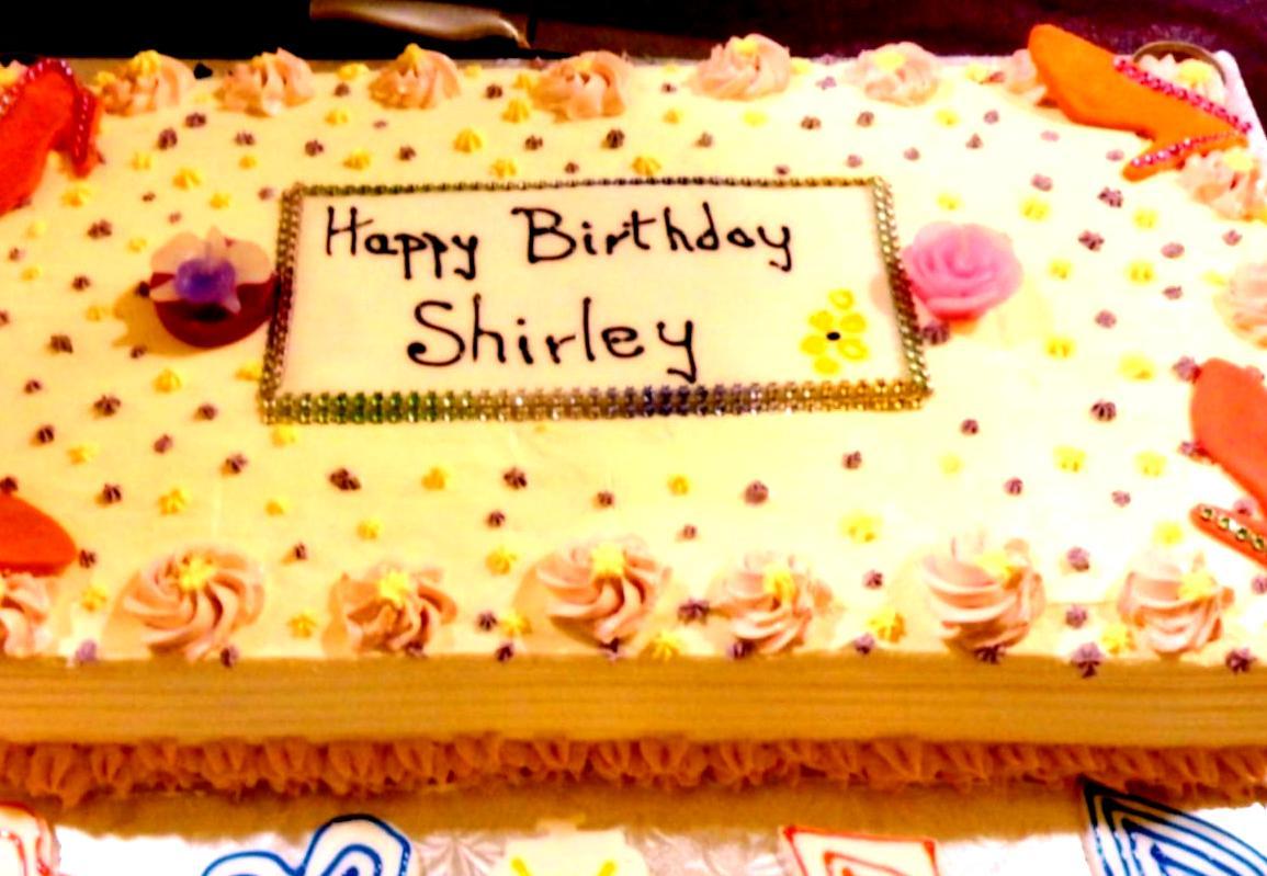Slab Birthday Cake