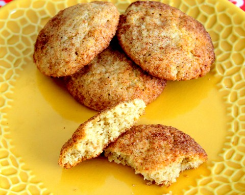 Snickerdoodles - Plated