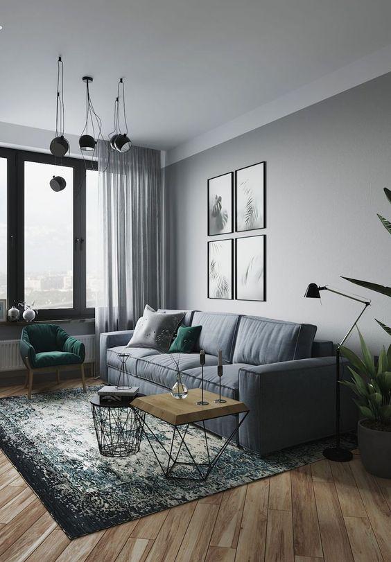60 Grey Small Living Room Apartment Designs To Look Amazing Kornelia Beauty