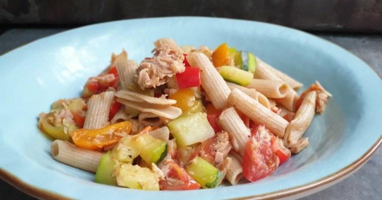pastasalade met tonijn | food love life being | bregblogt.nl