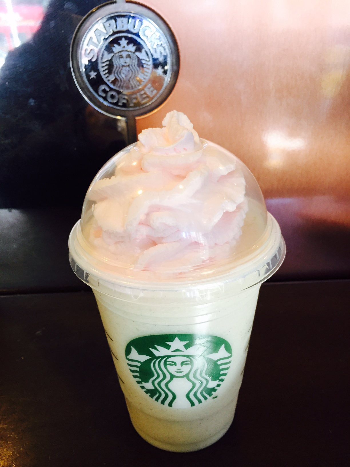 Birthday Cake Frappuccino Food Lover Girl