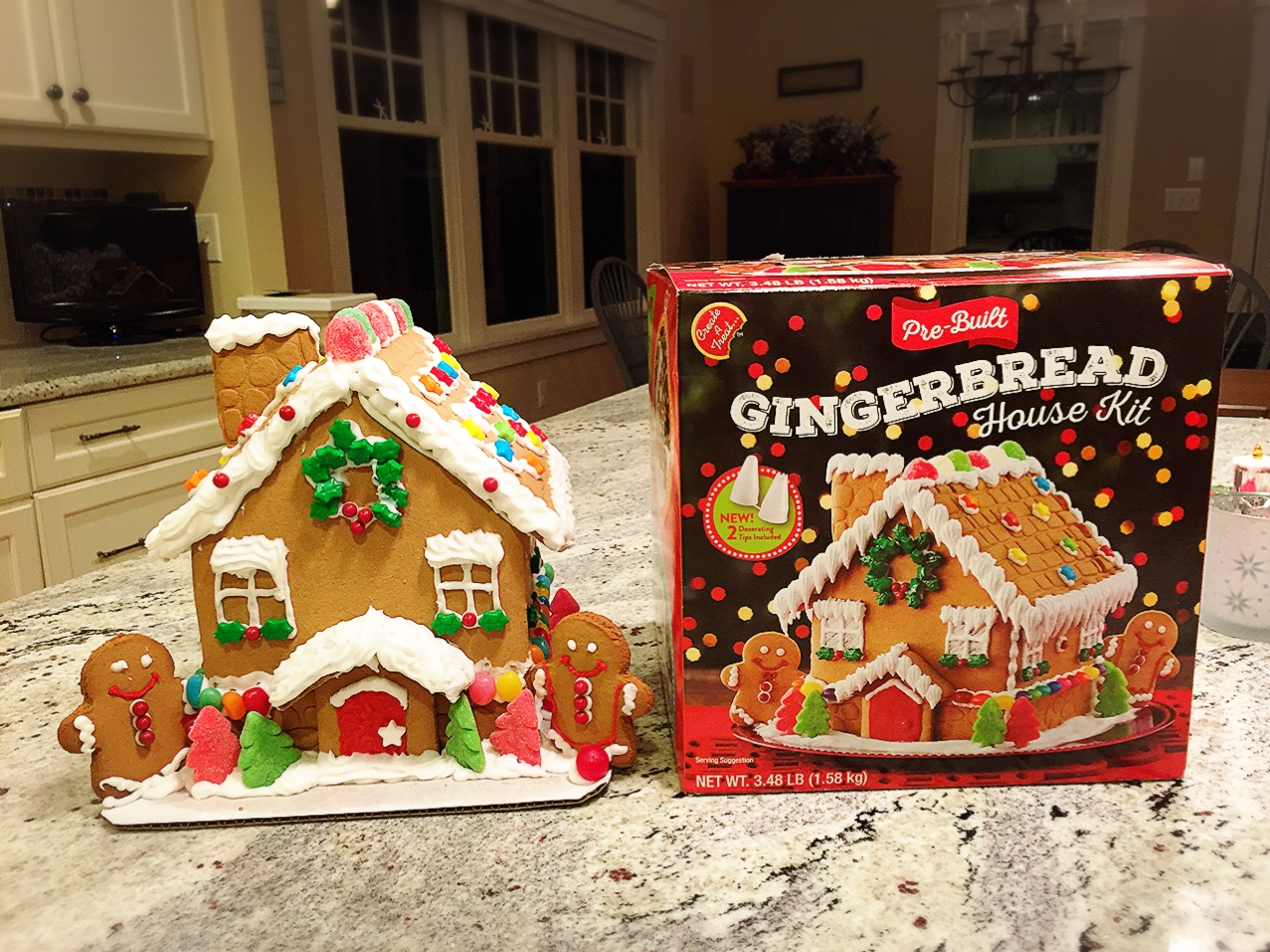 gingerbread house kits gingerbread house kit costco food lover 12048