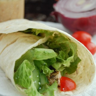 Greek Chicken Wrap