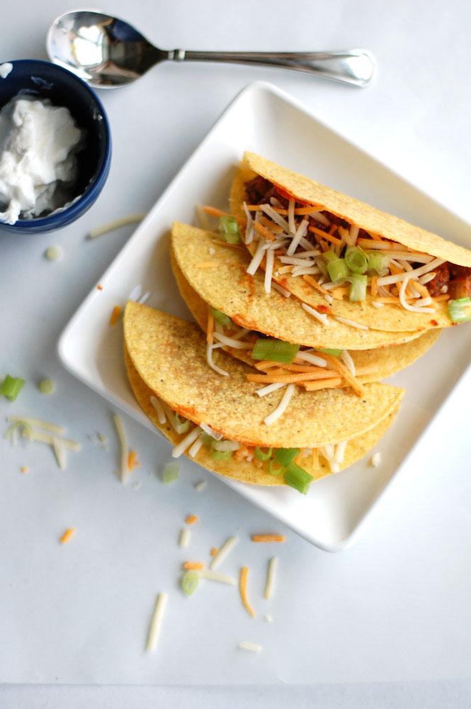 sloppy joe tacos