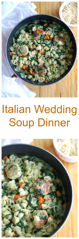 Italian Wedding Soup Dinner