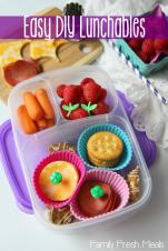 DIY Lunchables -FamilyFreshMeals
