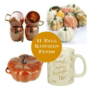 11 Fall Kitchen Finds