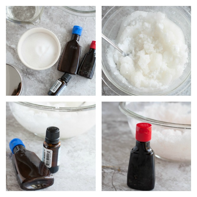 Treat yourself or a friend to this easy peppermint sugar scrub and body butter.
