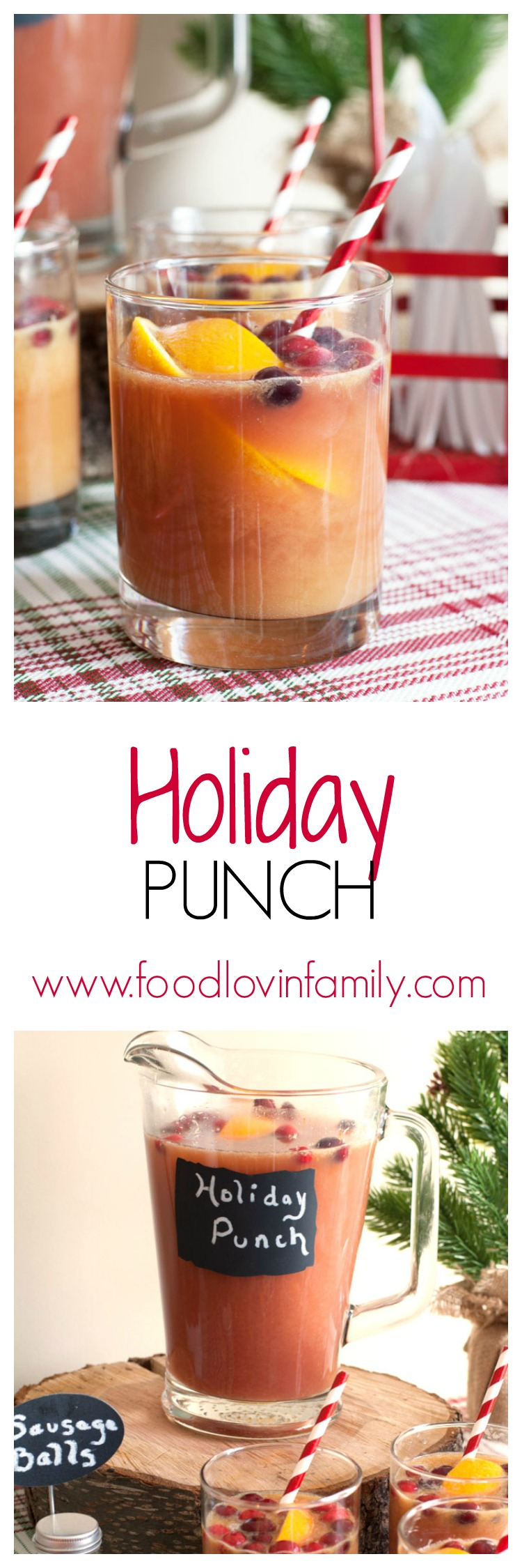Feel refreshed through the winter and at your next holiday gathering with Emergen-C and this holiday punch.