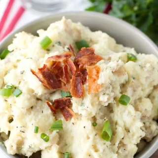 Loaded Ranch Mashed Potatoes