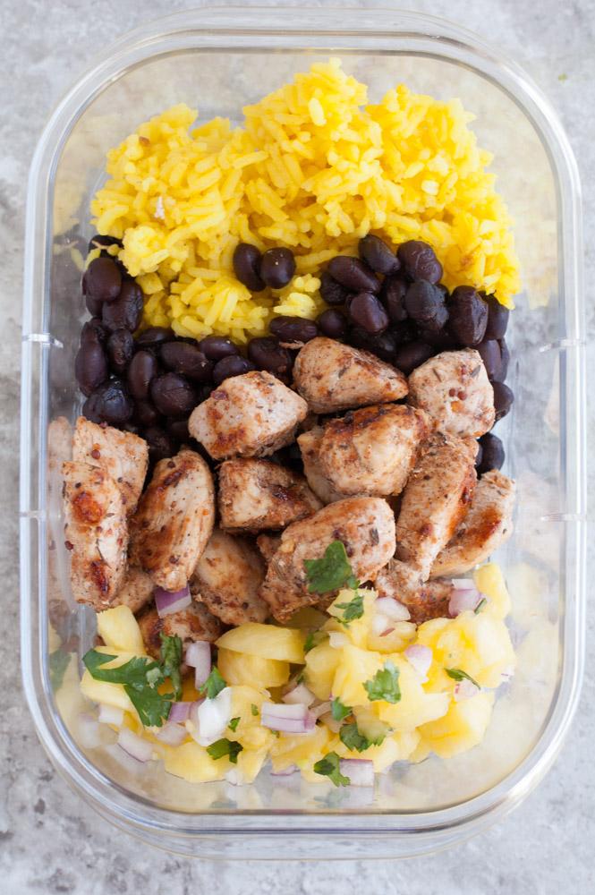 chicken meal prep bowls