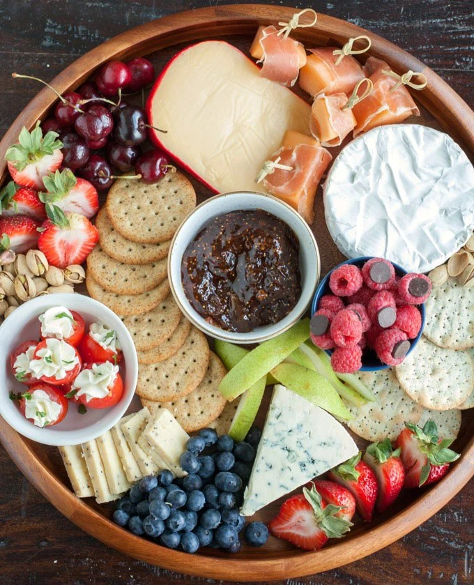 Summer cheese board- Wow your summer guests with an out of this world cheese board.