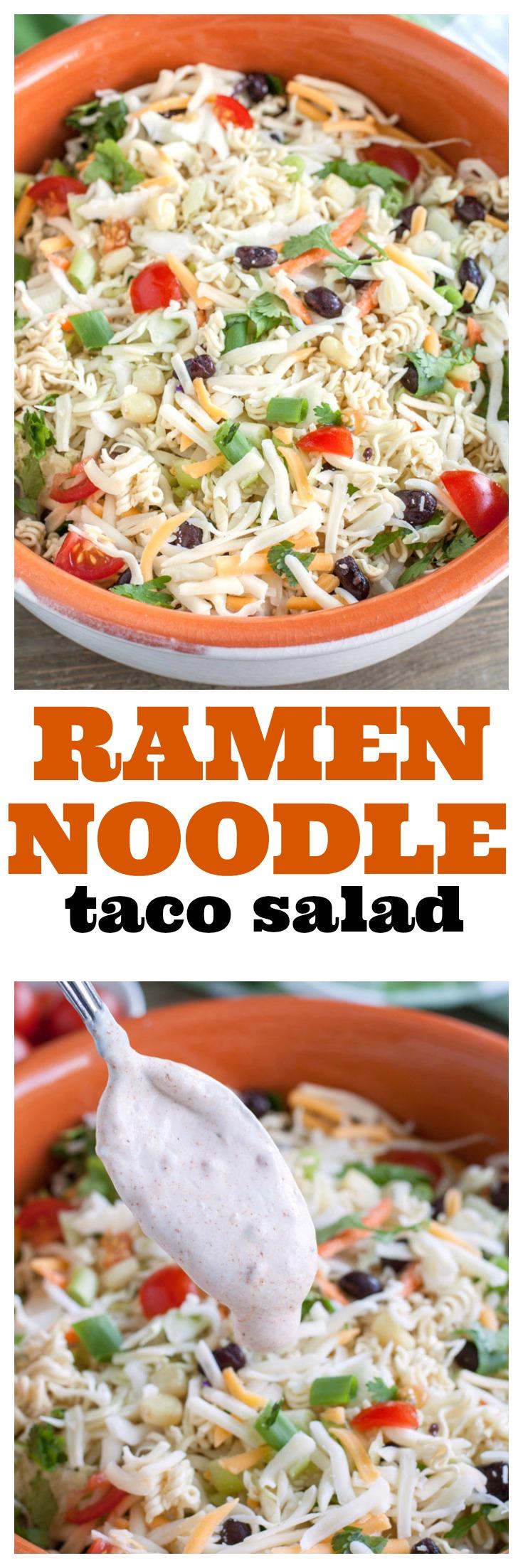 Ramen Noodle Taco Salad PIN