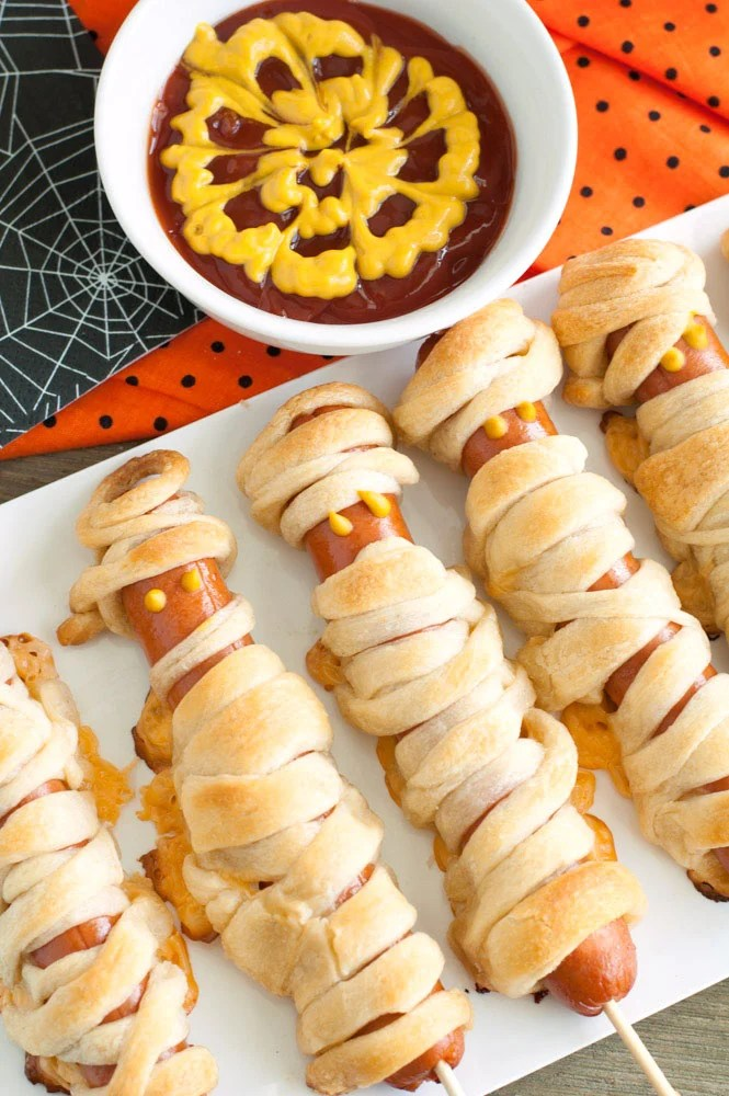 Crescent Mummy Hot Dogs