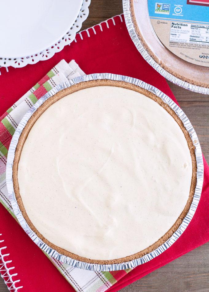 eggnog pie dessert