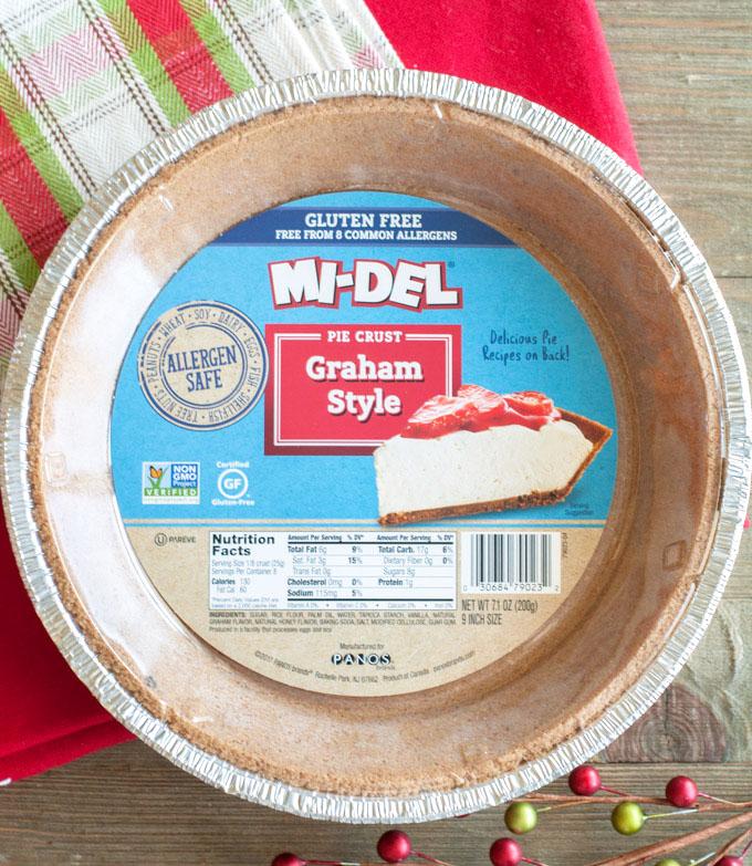 easy eggnog pie