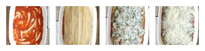 steps to making chicken lasagna