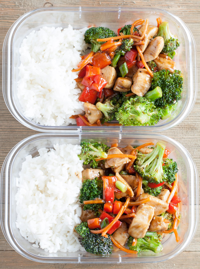 Teriyaki Chicken with vegetables. A quick and easy meal made with homemade teriyaki sauce in under 30 minutes.