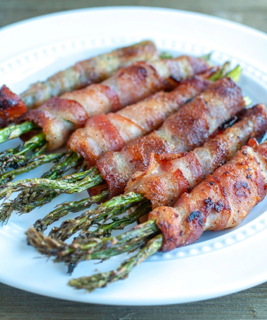 Air Fryer Bacon Wrapped Asparagus With Video Food