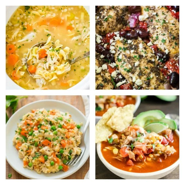4 pictures of crockpot chicken recipes