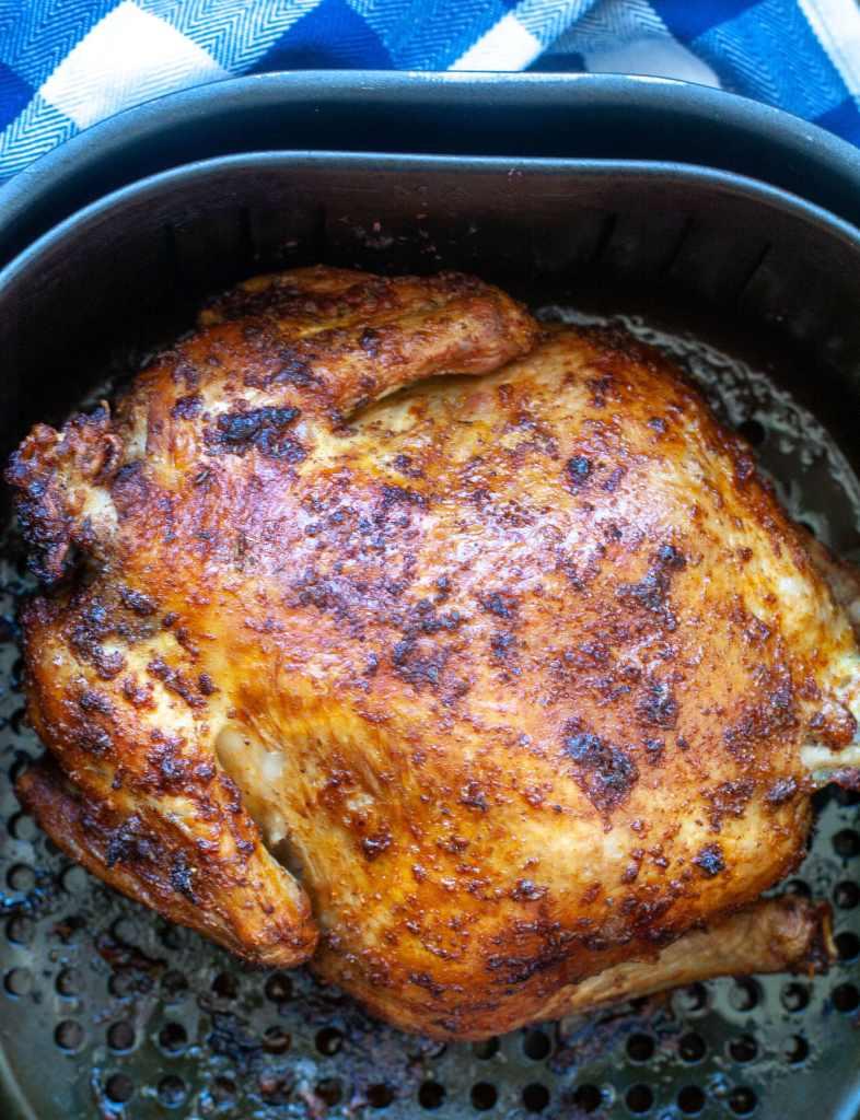 Rotisserie Chicken in an Air Fryer