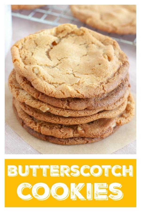 Butterscotch Cookies Pin