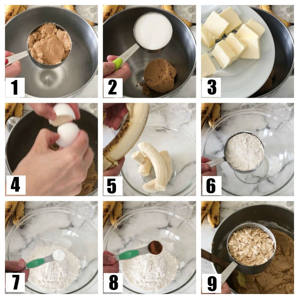 Steps to making cookies