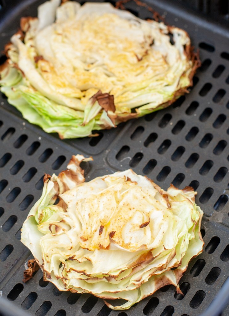 roasted cabbage in air fryer