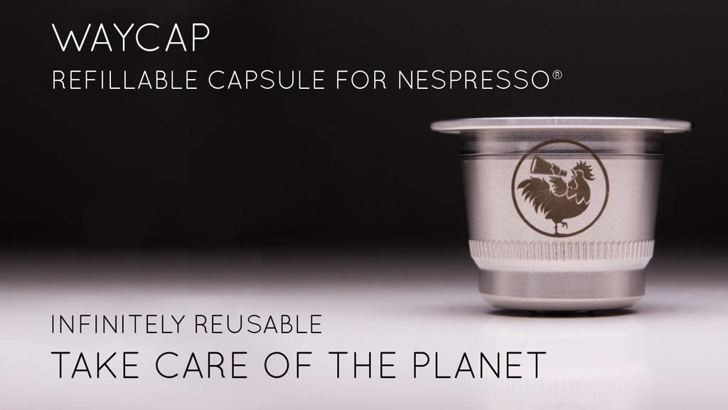 Waycap : la nuova capsula ricaricabile