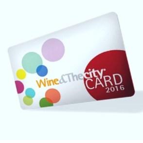 Wine&Thecity card