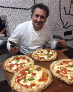 Aniello Falanga, pizzaiolo e chef di pizzeria Haccademia di Pollena Trocchia