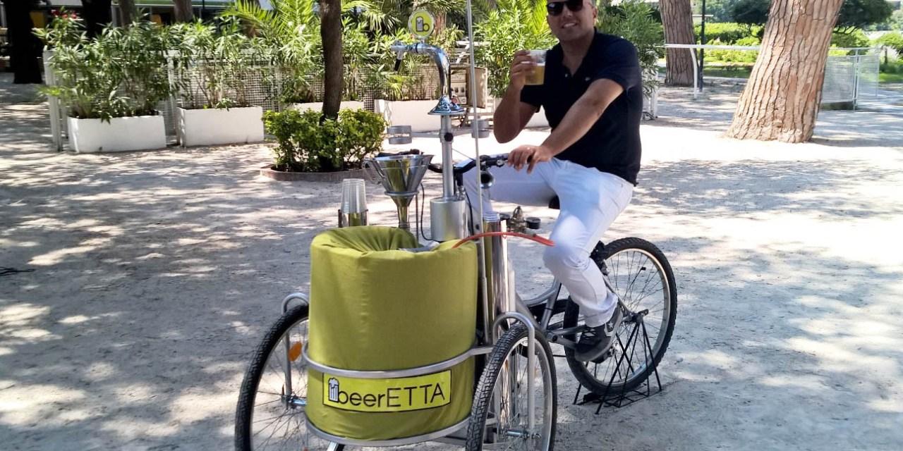 Birra gratis alla Rotonda Diaz di Napoli: arriva beerETTA