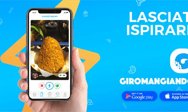 Giromangiando , l'App che ti ispira grazie alla foto dei piatti intorno a te!
