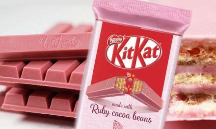 KitKat le barrette più famose del mondo, né bianco né nero: arriva il rosa