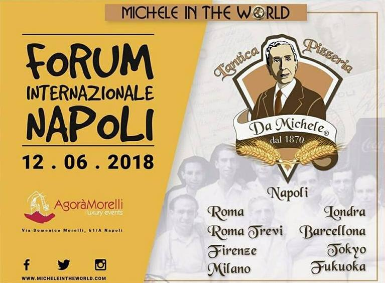 Forum internazionale Antica Pizzeria da Michele in the world