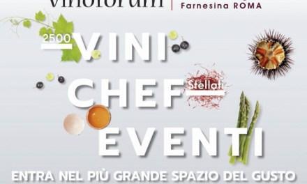 A Vinòforum Lo Spazio del Gusto maestri pizzaioli e grandi chef danno spettacolo – a Roma, dal 15 al 24 giugno