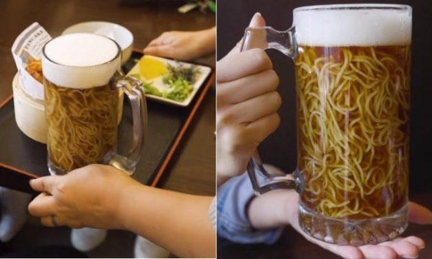 Il nuovo trend culinario è il ramen alla birra (o quasi)