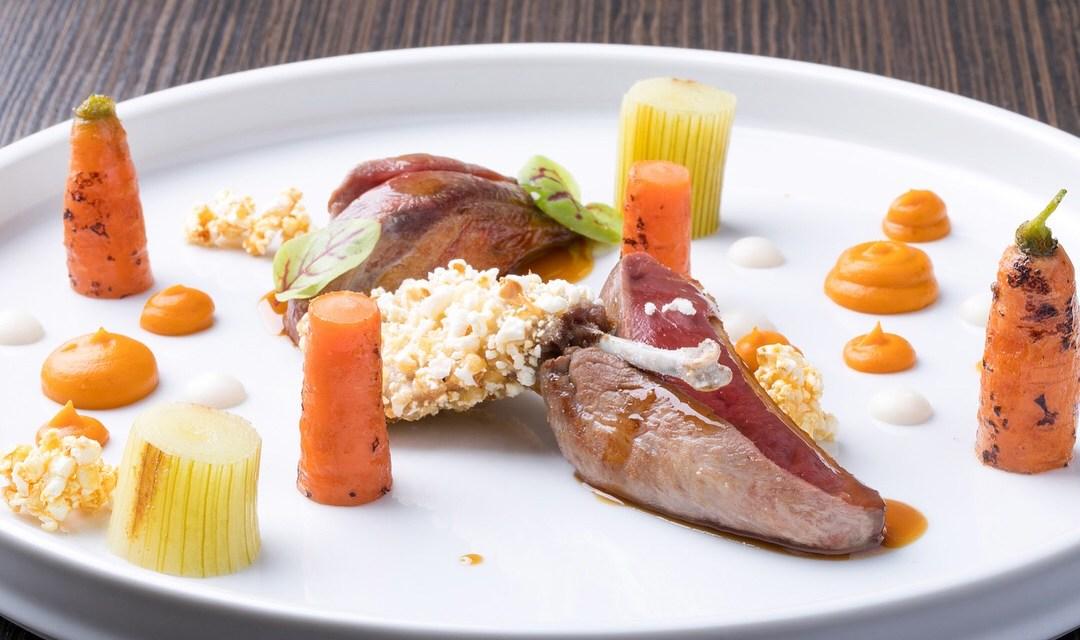 Ricetta Special by la Chef Valentina Perani –  Piccione, rafano e pop corn