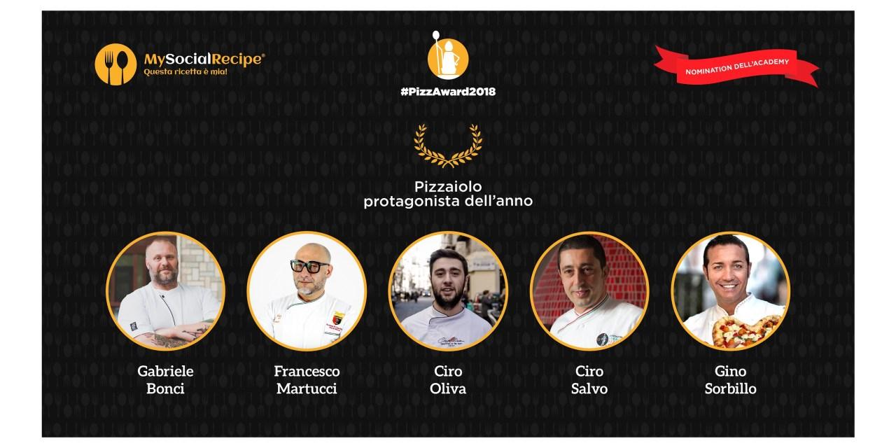 #PizzAward2018: svelati i 10 finalisti della 3^ edizione del contest internazionale. Annunciate anche le nomination per gli Award dell'Academy