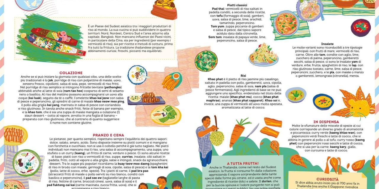 Slow Food Editore presenta Gustomondo: un viaggio per grandi e piccoli alla scoperta dei cibi del pianeta