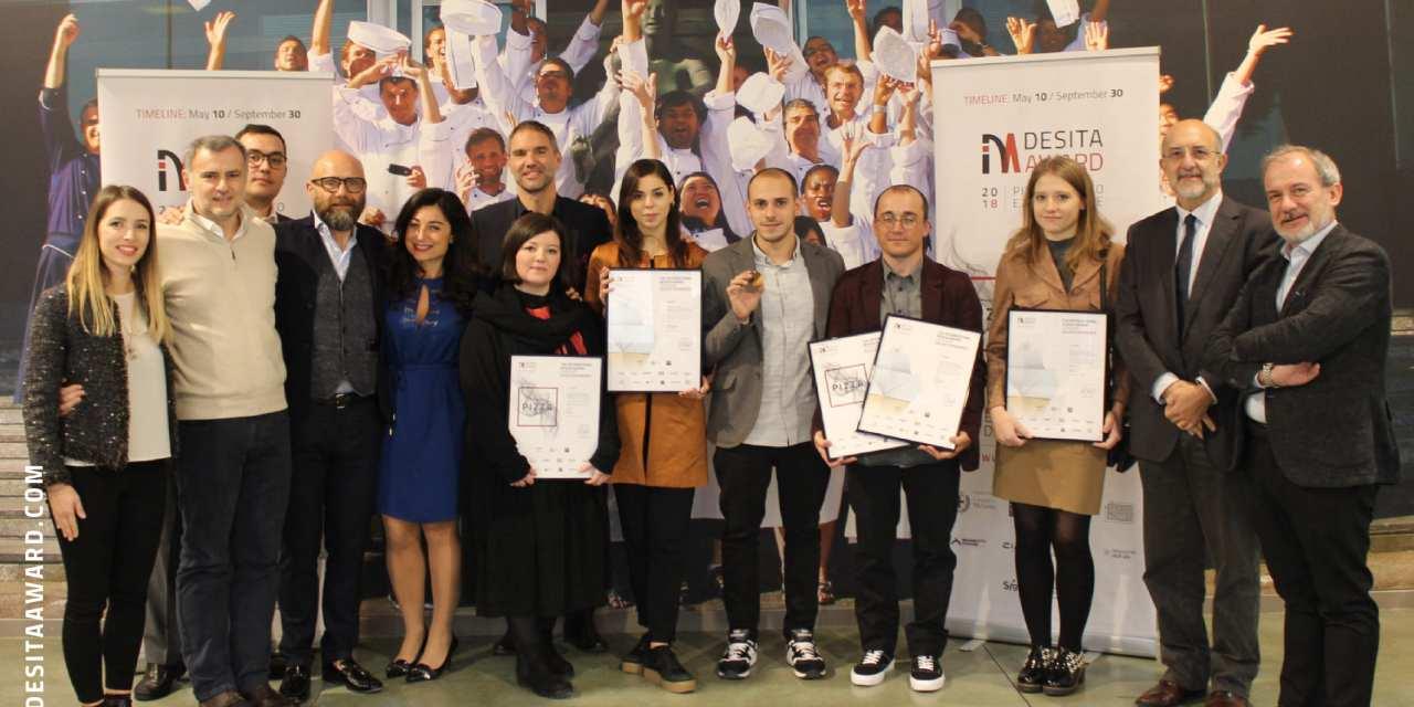 I vincitori Desita Award – Pizza e Gelato Experience 2018
