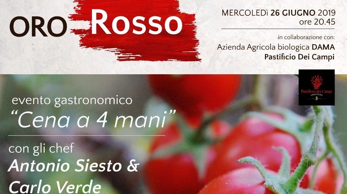 Oro Rosso – Il 26 giugno al ristorante Mostobuono