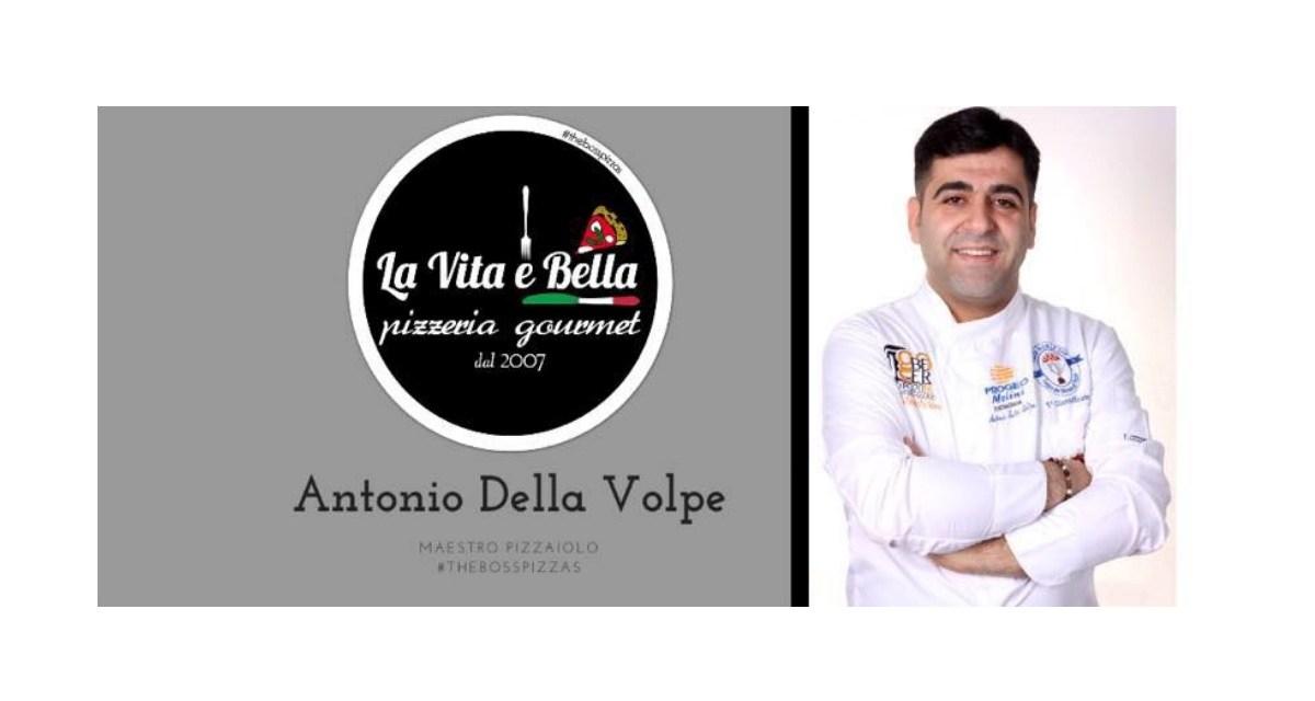 """Antonio Della Volpe: la """"Vita è Bella""""."""