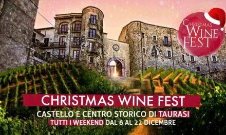 Taurasi, la magia del Natale con Christmas Wine Fest