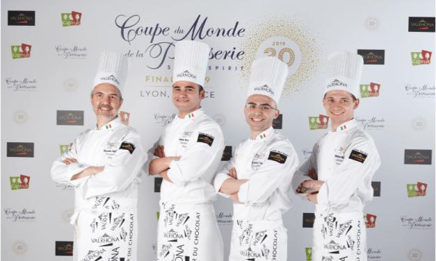 Agro.ge.pa.ciock ospita il team italiano, medaglia di bronzo alla Coupe du Monde de la Pâtisserie