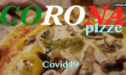 coronavirus che vergogna il video francese con la pizza