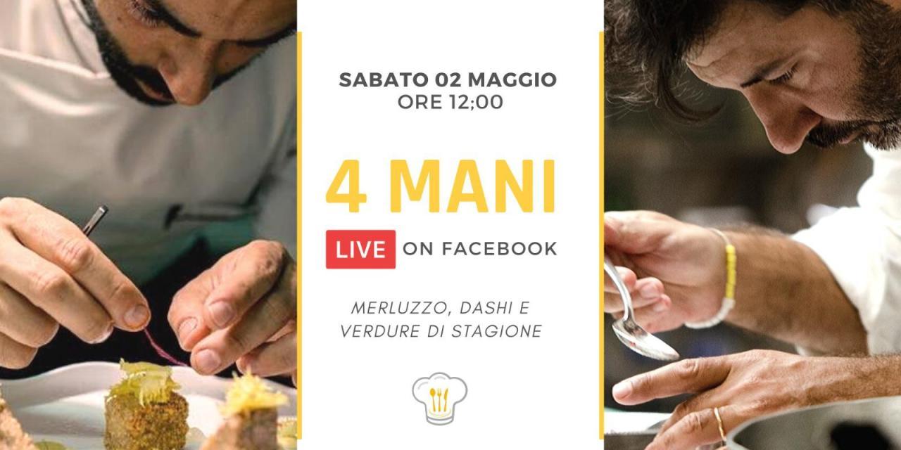 "Gli chef Roberto Lepre &Francesco Agnese ""live on Facebook"" per BeCheffy"