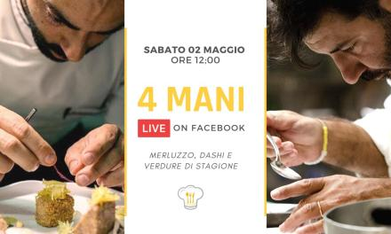 "Gli chef Roberto Lepre &Francesco Agnese ""live on Facebook"" per BeCheffy"