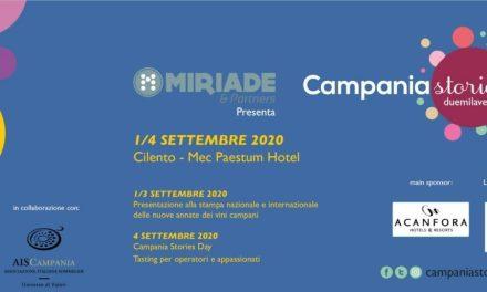 Campania stories L'ITALIA DEL VINO RIPARTE dal cilento