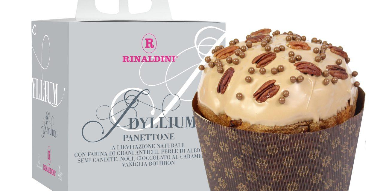 Roberto Rinaldini presenta il suo nuovo panettone IDYLLIUM
